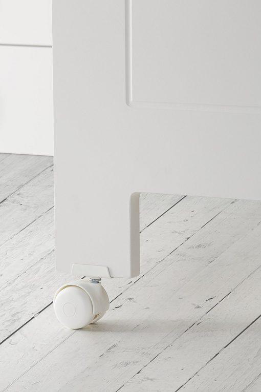 cuna de bebe karibu mandarina ruedas