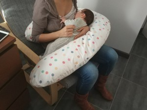cojin de lactancia