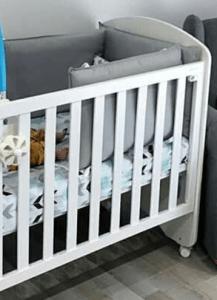 Protector cuna bebé