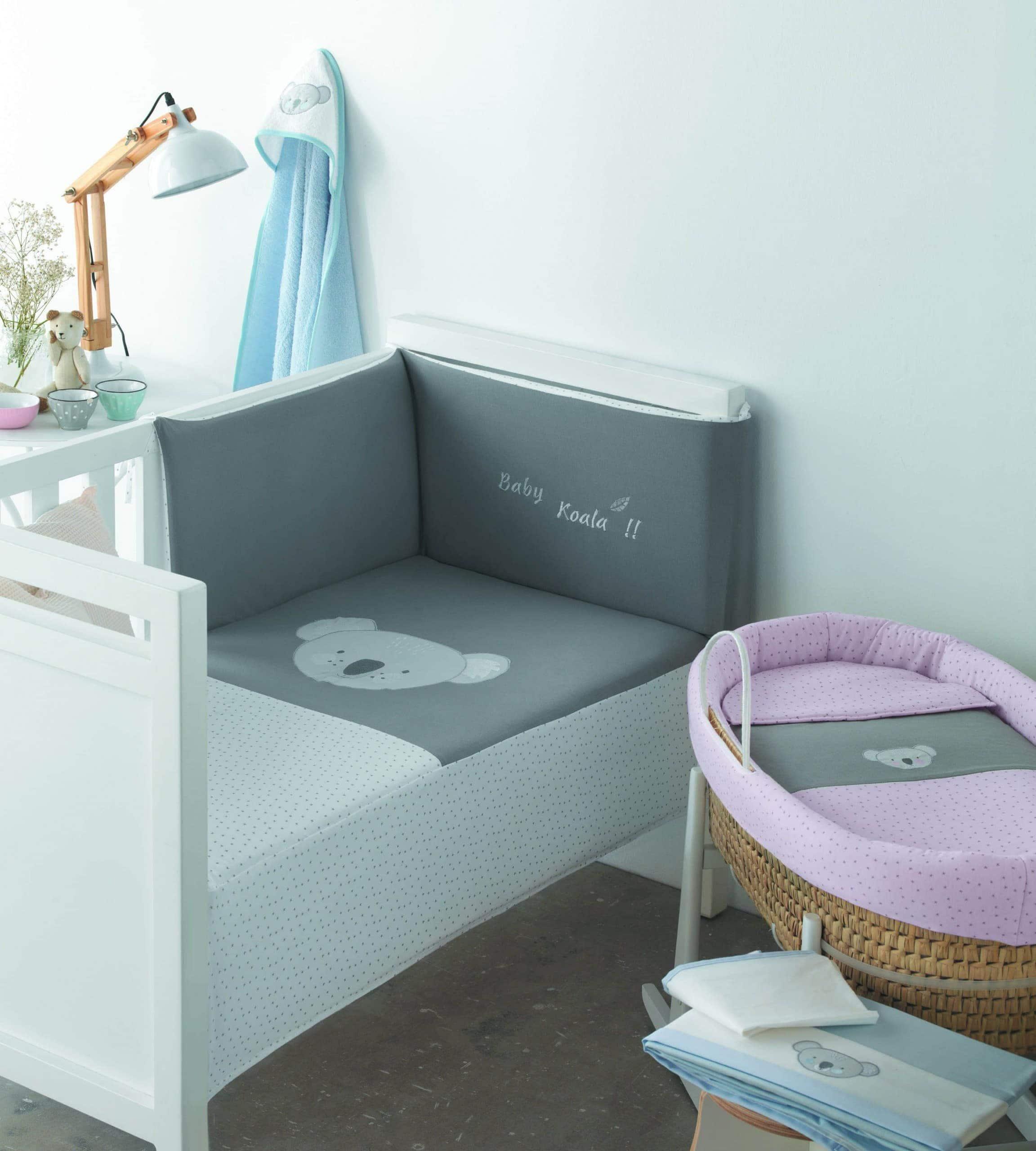 oferta textil para cuna de bebe