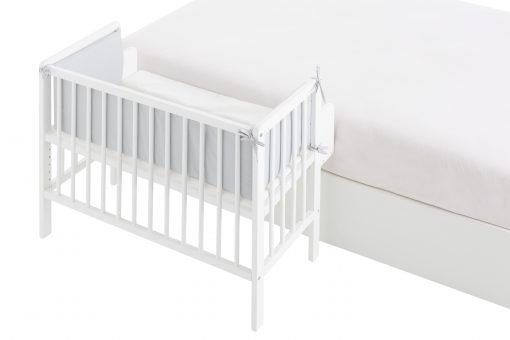 minicuna colecho xl flapy fija a cama