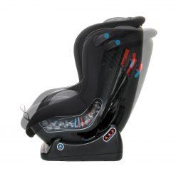 Silla coche bebe safety baby posicion reclinado direccion marcha