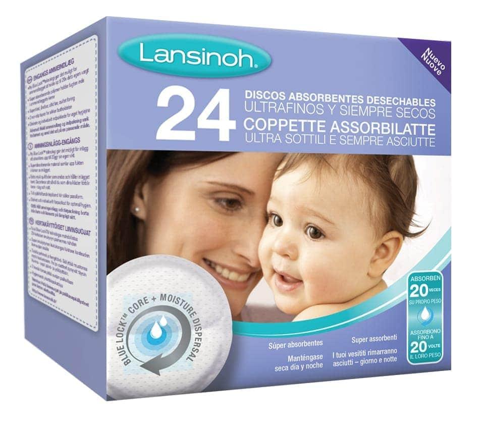 Discos absorventes lactancia lansinoh 24 unidades