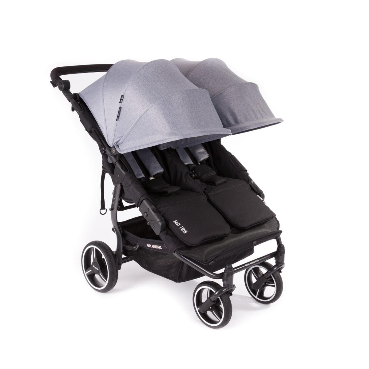 Capota gris carro gemelar easy twin 3.0s