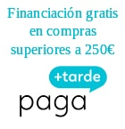 Financiacion gratis pedidos mayores de 250€