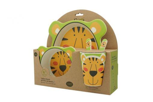 vajilla bambu infantil tiger