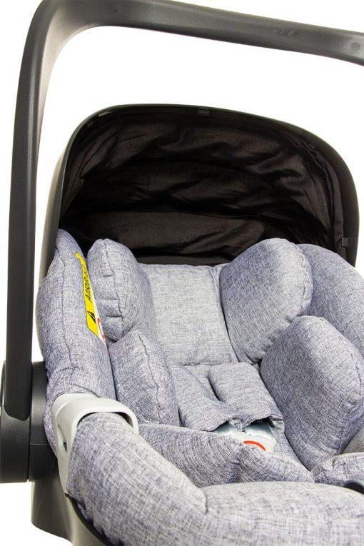silla coche grupo 0 coco isize acolchada
