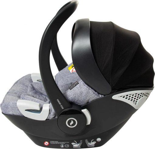 silla coche grupo 0 coco isize airflow system