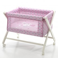 minicuna tijeras pink & lovely