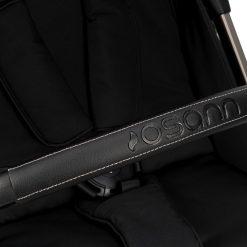 silla de paseo boogy barra proteccion cuero