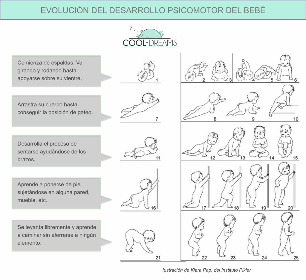 Movimiento libre Pikler: evolución desarrollo psicomotor