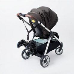 patinete para silla paseo con asiento plegado