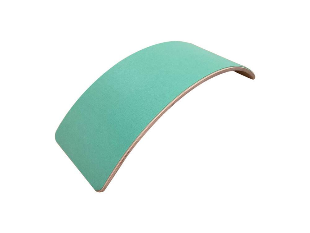 tabla equilibrio montessori fieltro turquoise
