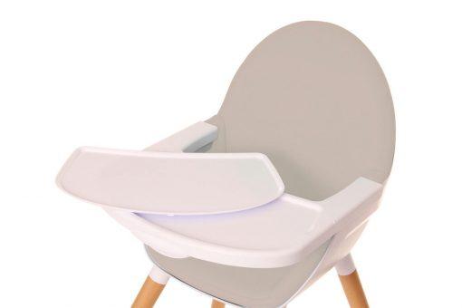 trona bebe convertible osann gris bandeja detalle