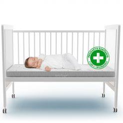 Cuna y colchon sanitario para bebe